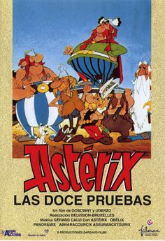 Astérix - The Twelve Tasks of Astérix. Not the best, but still very good for an entirely original Astérix story :D