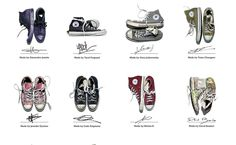 #Converse Made by You #Chuck Taylor All Stars
