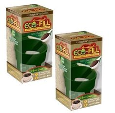 Perfect Pod EcoFill  2 Pack  Refillable Capsules for Kcup brewers >>> See this great product.Note:It is affiliate link to Amazon.