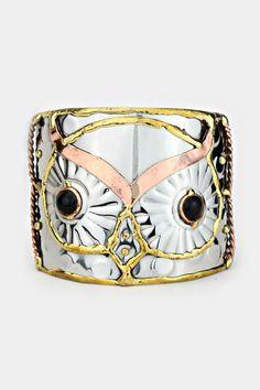 Owl Bracelet on Emma Stine Limited