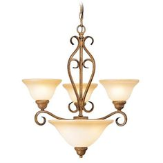 Bistro Chandelier (LVX-8285-57). Bistro - Chandelier - Venetian Patina - 24 Dia x 26.5 Product Specifications Fixture Type Chandelier Collection Bistro Finish Venetian Patina Glass Art Dimensions 24 Dia x 26.5 Wattage 3 100w Med Weight 17 Lbs.. See More Chandeliers at http://www.ourgreatshop.com/Chandeliers-C1008.aspx