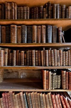 Theres nothing like the smell and feel of old books. I love vintage books! Antique Books, Vintage Books, I Love Books, Books To Read, Beautiful Library, Home Libraries, Library Books, Reading Books, Library Shelves