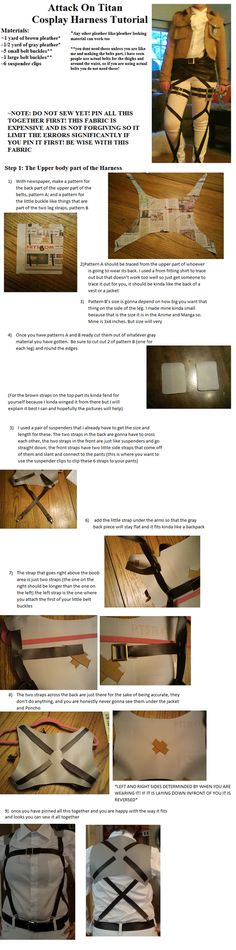 Attack on Titan Harness Tutorial Part 1 by CasuallyDisregarding on deviantART