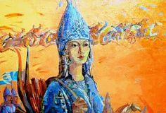 TOMRİS+HATUN.Sadece bir kadın değil, bir Türk kadını idi ve bu kadın, kendisiyle izdivaç ederek, milletinin ve vatanının hürriyetine istiklaline kasteden kan dökücü bir adama karşı yılmadan dövüşmüştü.  Kahraman Tomris, mazimizin göklerin süsleyen şanlı bir yıldızdır. Bu şanlı kadın, bütün Türk kadınlarına örnektir.