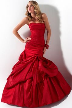 Candy Apple Red Prom Dress