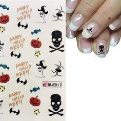 "So macht Party Spaß :-) Nailart Sticker "" Halloween "" http://ebay.eu/1Lo0yIs"