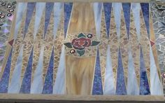 Mosaic Backgammon Table by KathanStainedGlass on Etsy, $999.00