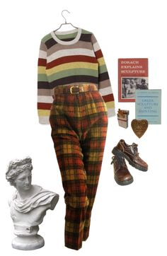 """""""a sculptor"""" by silkwitch on Polyvore featuring Market and Dr. Martens"""