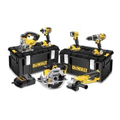 Dewalt Dck694M3-Gb 18V Brushless 6 Piece Kit (3 Speed) With 3 X 4.0Ah that features the latest in modern technology and practicality. The kit includes a compact drill driver, compact impact driver, a circular saw, jigsaw, a mini angle grinder and an LED torch. All pieces feature Dewalts XR technology.   L047863