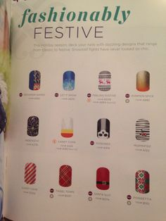 New Holiday themed Jamberry nail wraps! Buy some here: karruhcorin.jamberrynails.net