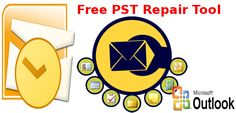 The Free PST Repair Tool which the website provides helps user to check the tool capability in repairing the damaged PST files.