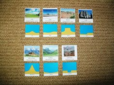 Free Landscape Picture Cards (and other printables) from Every Star Is Different