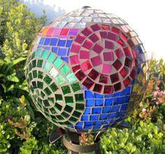 Mosaic Bowling ball-Sold | Flickr