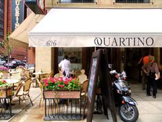 Quartino, in Chicago, known for their Italian tapas, featuring modest sized plates of handmade pastas and other seasonal prepared specialties