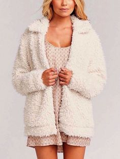 Show Me Your Mumu Shearling Bomber Jacket Fuzzy Faux Fur Cardigan Large 8214 NWT  | eBay