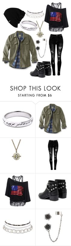 """Riverdale"" by even-in-darkness ❤ liked on Polyvore featuring L.L.Bean, Warner Bros., Senso, Charlotte Russe, Hot Topic and Patagonia"