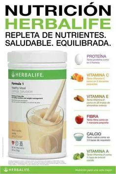 Los batidos Herbalife constituyen la base adecuada para incorporar proteínas de base vegetal a su nutrición diaria. ¿Desea saber cuáles son los componentes de los Batidos Herbalife? Proteína de soja de alta calidad, vitaminas, minerales y carbohidratos. Definitivamente si. ¿Puedo combinarlos con leche de soja si soy intolerante a la lactosa? Si, se puede preparar con leche de soja, agua, frutas.