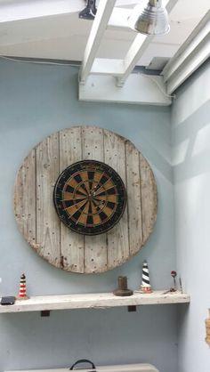 Dart board /Repurposed wood