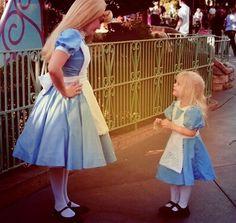 Meeting her idol