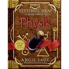 Physik - Book 3 of the Septimus Heap series by Angie Sage. When Silas Heap unseals a forgotten room in the Palace, he releases the ghost of a queen who lived five hundred years earlier. Queen Etheldredda is as awful in death as she was in life, and is still up to no good. Her diabolical plan to achieve everlasting life requires the talents of her son, Marcellus Pye, a famous Alchemist and Physician. And when Jenna and Septimus become involved, then you can be sure that Darke adventure…