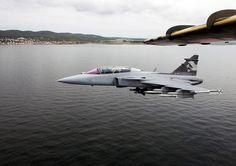 Swedish Air Force Saab JAS-39 Gripen.