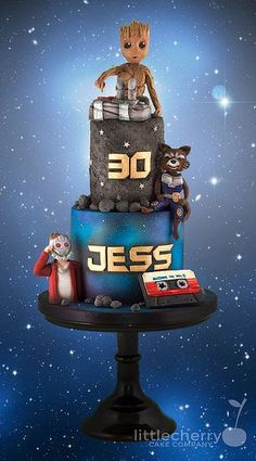 Guardians of the Galaxy 2 Cake