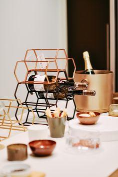 Wine rack by XLBoom - Verkrijgbaar bij Pigment Interieur Zottegem / www.be Elegant Kitchens, Wine Rack, Furniture, Kitchen Stuff, Design, Van, Home Decor, Decoration, Breakfast