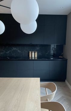 Scandi Style, Light Oak, Black Kitchens, Interior Design Kitchen, Scandinavian Design, Dining Room, Flooring, Simple, Instagram