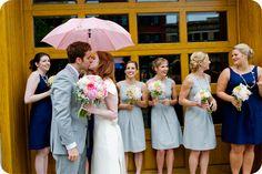 rainy day weddings can be so romantic :)