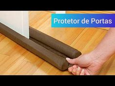 Protetor de Porta Super Fácil - YouTube Tapas, Rolling Pin, Organizer, Youtube, Make It Yourself, Blog, Diy, Relax, Craft Projects