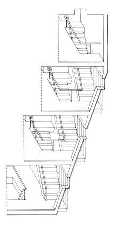 james stirling - florey building, oxford 1967-72