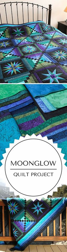 Moonglow quilt kit quilting project                                                                                                                                                                                 More