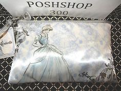 DISNEY SOHO CINDERELLA WRISTLET COSMETIC MAKEUP BAG in Health & Beauty,Makeup,Makeup Bags & Cases   eBay