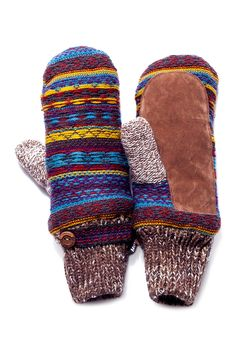 Vintage Sweater Mittens by MUK LUKS on @HauteLook