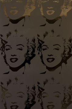 MARILYN REVERSAL DESIGNED BY FLAVOR PAPER/ANDY WARHOL FEATURED IN THE WARHOL COLLECTION