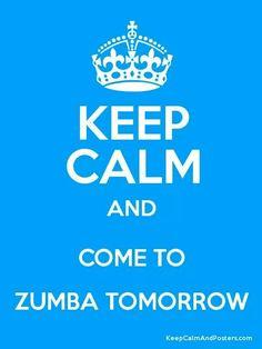 Keep the calm.