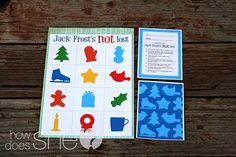 Jack Frost's NOT Lost…easy Christmas Neighbor Gift!