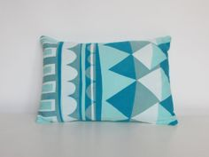 Screen Printed Handmade Cushion Jade by GeometricRamblings, Textile Prints, Textiles, Handmade Cushions, Screen Printing, Jade, Throw Pillows, Printed, Unique Jewelry, Handmade Gifts
