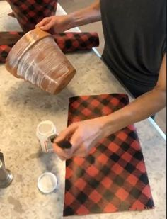 Buffalo Plaid is forever a Christmas favorite to decorate with! Come check out this simple way to make them!