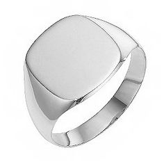 one of our mens sterling silver signet rings