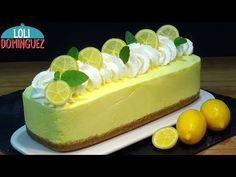 Lemon cake without oven, easy and fast - Recipes step by step, tutoring . Food Cakes, Cheesecake Cupcakes, Recipe Steps, Flan, Coffee Cake, No Bake Cake, Mexican Food Recipes, Cake Recipes, Oven Recipes