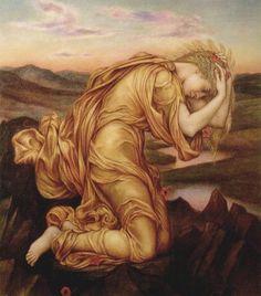 Evelyn DeMorgan: Demeter Mourning Persephone