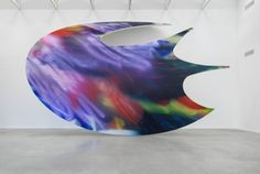 Katharina Grosse at Temporare Kunsthalle Berlin