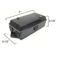 Part OTP-PTC-JB Description: 1 (One) Trailer wiring junction box for or trailer connectors. This junction box provides a fast, easy way to connect wires from the trailer connector to the trailer wiring. Makes replacing a trailer's connector simple. Bug Out Trailer, Teardrop Camper Trailer, Off Road Trailer, Trailer Plans, Trailer Build, Expedition Trailer, Overland Trailer, Cargo Trailers, Utility Trailer