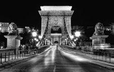 Budapest chain bridge by Kate Eleanor Rassia on 500px