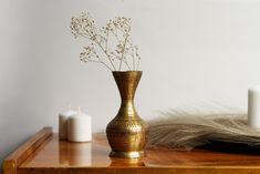 Ceramic Table Vase Gold Living//Bed Room Gifts Home Decor Brand New  30cm*39cm