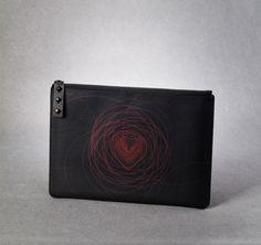 Black hole clutch ipad case