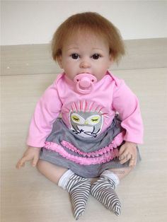 106.00$  Watch here - http://aliz2e.worldwells.pw/go.php?t=32750817520 - Retail Good Price 55cm 22inch Silicone Baby Doll With Cute Hat Supernatural Babies Toy Acompany Toys Limited Edition Reborn Doll 106.00$