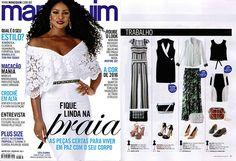 Birô na Revista Manequim de Janeiro 2016