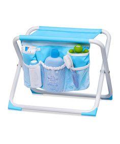 Look at this #zulilyfind! Blue Tub-Side Seat & Organizer by Summer Infant #zulilyfinds
